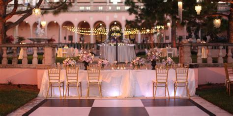 outdoor wedding venues central coast california the ringling museum of courtyard weddings