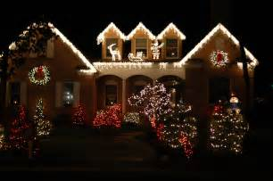 decorated houses christmas tree home house shop offices decoration ideas