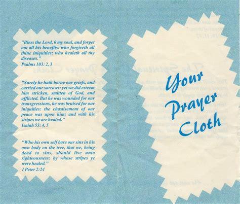 prayer cloths faith healers ed johnson iii