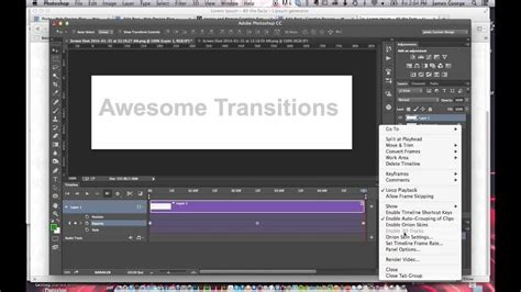 tutorial photoshop cc animation how to create an animated gif in photoshop cc youtube