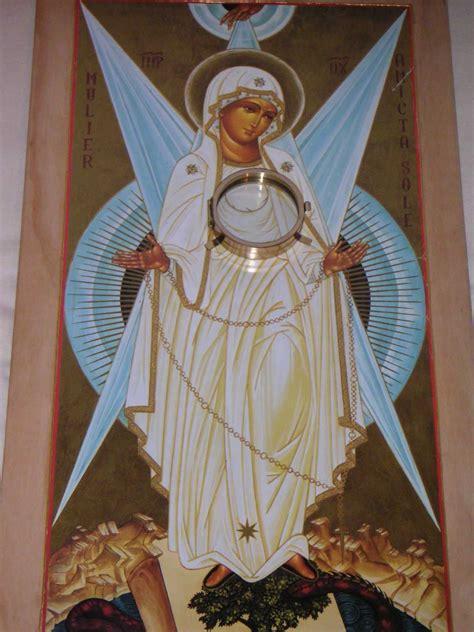 imagenes catolicas eucaristicas custodia virgen inmaculada monasterio abba padre