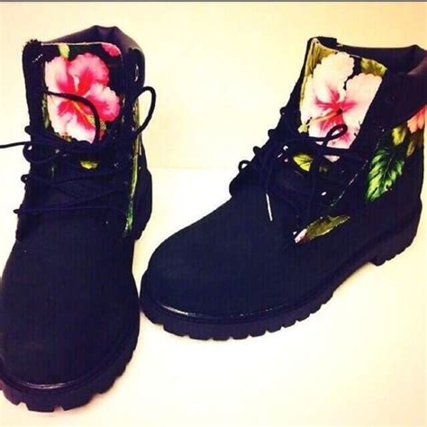 black timberland boots on south pole clothing