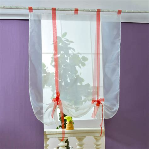 voile bathroom curtains new sheer kitchen bathroom balcony window curtain voile