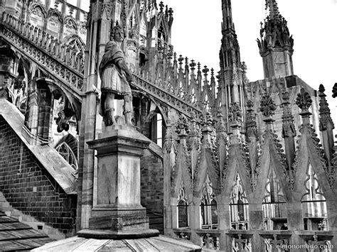 imagenes goticas blanco y negro milan en blanco y negro