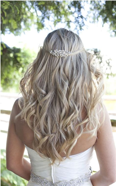 bridal hairstyles loose curls 2016 wedding hair makeup trends lords and ladies salon