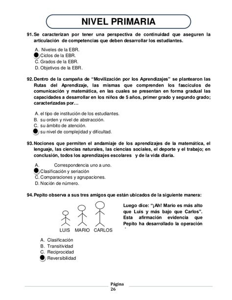 temario del examen del examen ascenso de nivel resultados de examen de ascenso de nivel 2016 resultados