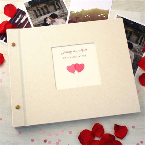 Wedding Anniversary Album Ideas by Personalised Wedding Anniversary Photo Album By Made