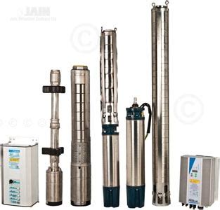 Pompa Air Submersible Inoto jain solar operated submersible pumps