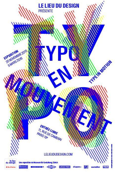 design graphisme affiche de l exposition 169 studio des signes lieu du design