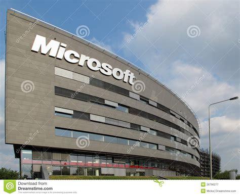 sede microsoft sede da microsoft corporation fotografia editorial