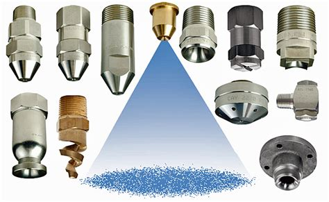 Nozzle Air Mancur Type Calyx Jet general purpose nozzles flat fan cone hollow cone