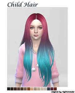 sims 4 cc for hair sims 4 cc s the best hair for child by shojoangel