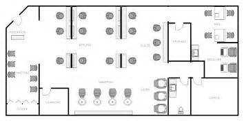 floor plan salon salon layout