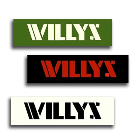 willys jeep logo willys logos single siminoff jeeparts