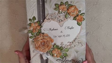 Wedding Mini Album by Custom Wedding Mini Album