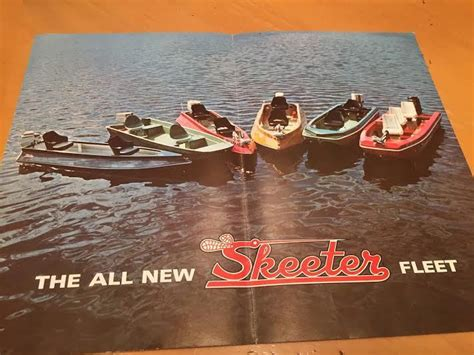 skeeter boats made vintage skeeter catalog bass fishing texas fishing forum