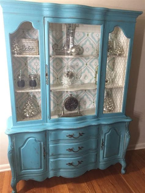 Vintage French Provincial China Hutch SOLD Let me find and