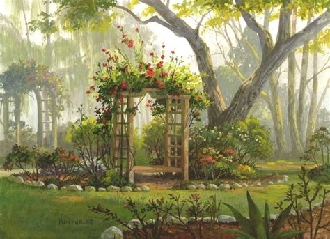 Michael S Garden Arch Roses Are By Michael Humphries Floral Garden Arch