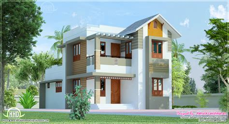 Indian House Plans With Photos by Cute Villa Exterior Design In 1200 Square Feet Home