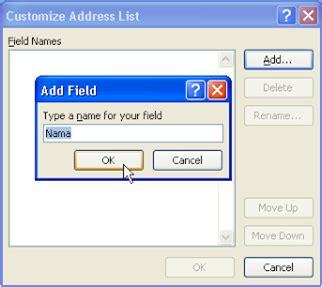membuat mail merge dengan database access langkah langkah membuat mail merge dengan menggunakan