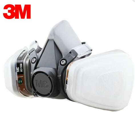 Masker Respirator 3m 6200 7 In 1 3m 6200 6001 respirator half mask painted activated carbon mask against organic vapor gas
