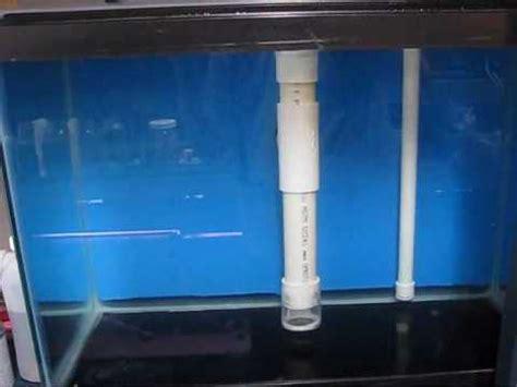 aquarium drain design pvc aquarium drain youtube