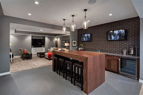 Basement Bar Island The Capilano Transitional Basement Other By
