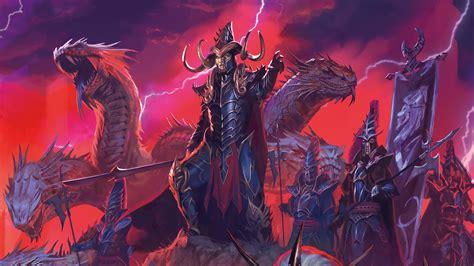 Creative Wallpaper by Hd Total War Warhammer Malekith War Hydra 1111