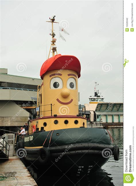 tugboat children s show theodore tugboat editorial photography image of
