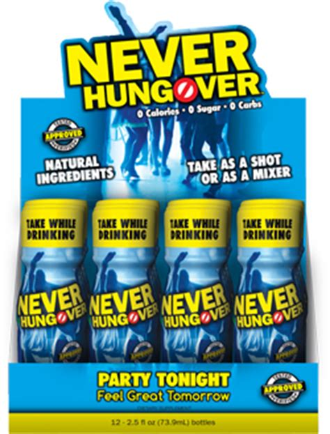 best hangover drink industry s hangover preventative drink never
