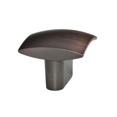 oil rubbed bronze cabinet knobs home depot amerock 1 1 4 in oil rubbed bronze cabinet knob bp1466orb