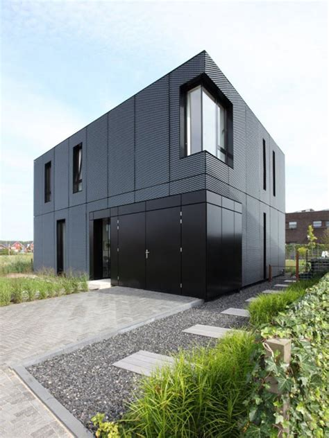 modern aluminum home with ever changing facade interior modern house designs