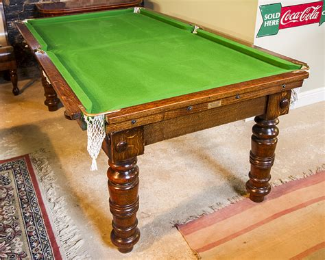 6ft antique snooker dining tables for sale browns
