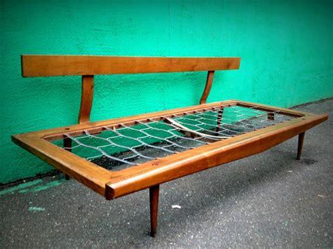 modern daybed frame on hold vintage mid century modern day bed sofa frame