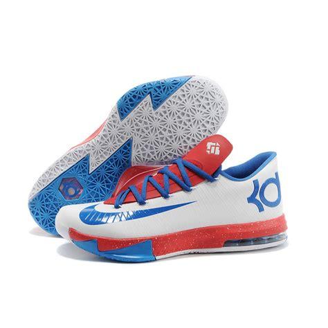kds shoes nike kevin durant kd 6 vi paris white blue for sale