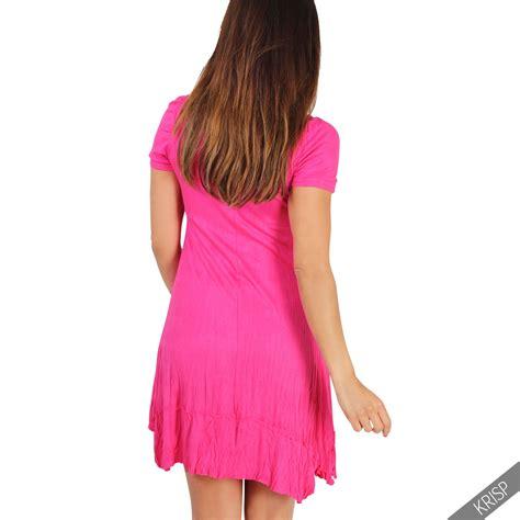 3in1 Set by Damen 3in1 Set Tunika Kleid Mit Top Und Halskette Mini