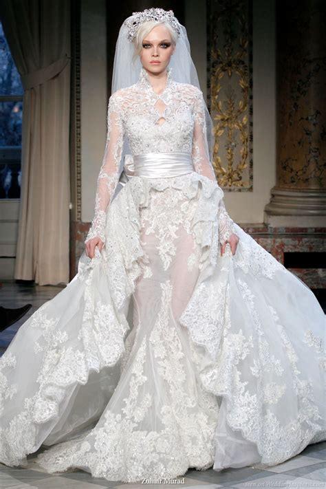 Asymmetrical Draped Skirt Zuhair Murad Couture Spring Summer 2010 Wedding Inspirasi
