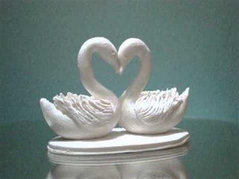 swans wedding cake topper from sweetart.co.uk youtube