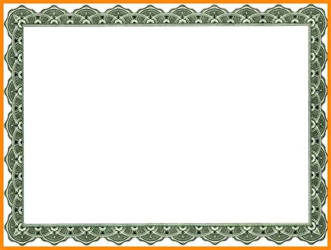borderless certificate templates certificate borders templates engagement invites templates