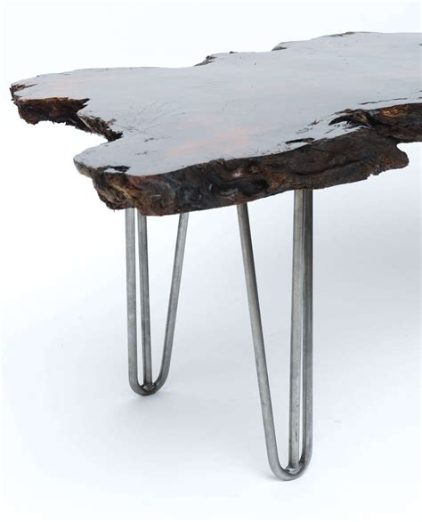 gorgeous coffee tables gorgeous redwood coffee table for sale at 1stdibs