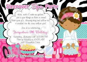 sleepover invitation templates free 4 best images of slumber invitations free printable
