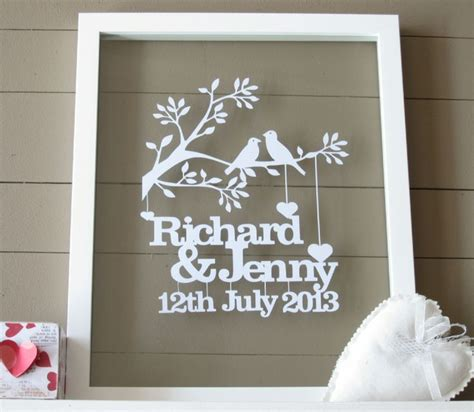 Wedding Gift Personalised by Cool Personalised Wedding Gifts 2016