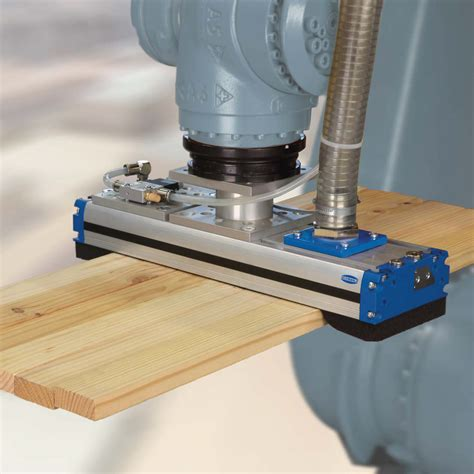 vacuum grippers vacuum suction robot grippers made to measure wood industry