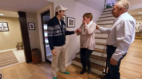 house mom ashton kutcher surprises mom with a home makeover today com