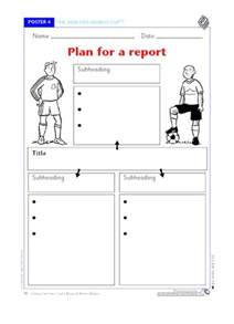 Planning Frame For Report Writing by Plan For A Report Free Primary Ks1 Teaching Resource Scholastic