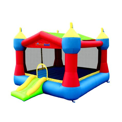 bouncing house bounceland inflatable party castle bounce house reviews wayfair