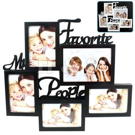 remarkable of large collage frames large collage frames homedesign plus collage photo multi collage photo picture frame 6x4 aperture wall black