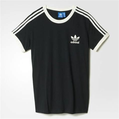 Tees Black Karambol D C adidas 3 stripes black 2 715 isk liked on polyvore