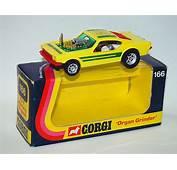 Corgi Ford Mustang Dragster Organ Grinder  Yellow 166