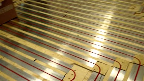 radiant floor heating system rehau tako x block
